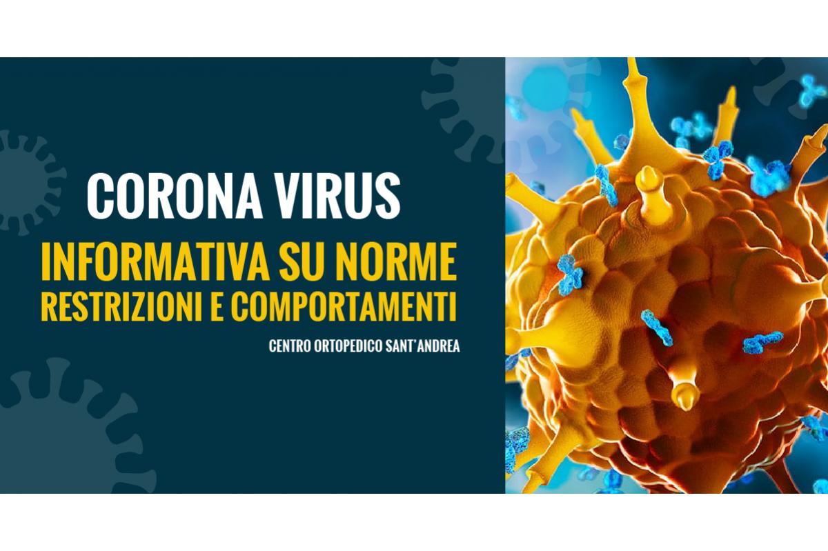 Coronavirus Informativa sulle restrizioni