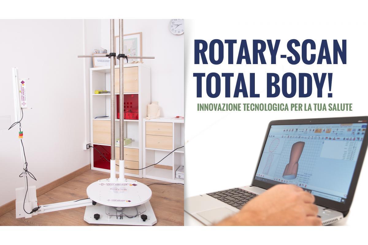 Ortopedia su misura: Rotary-Scan Total Body!