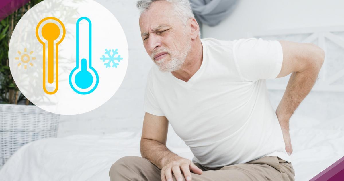 Temperatura e mal di schiena
