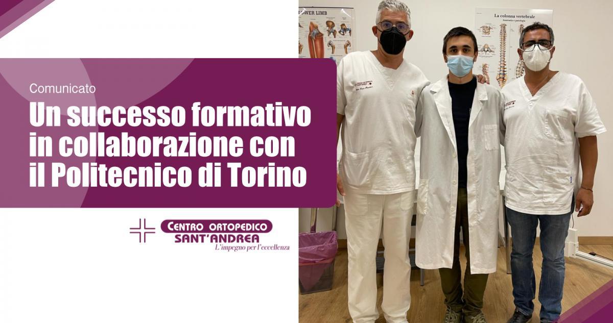 Un successo formativo in collaborazione con il Politecnico di Torino