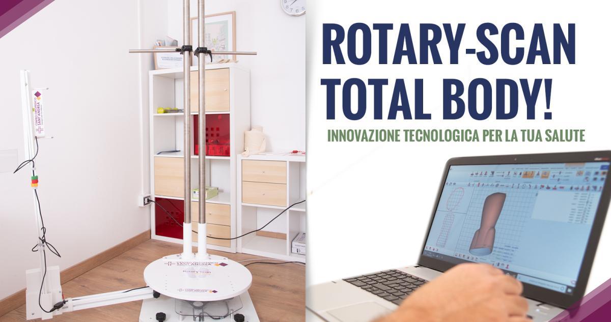 Ortopedia su misura: Rotary-Scan Total Body! Centro Ortopedico Catania