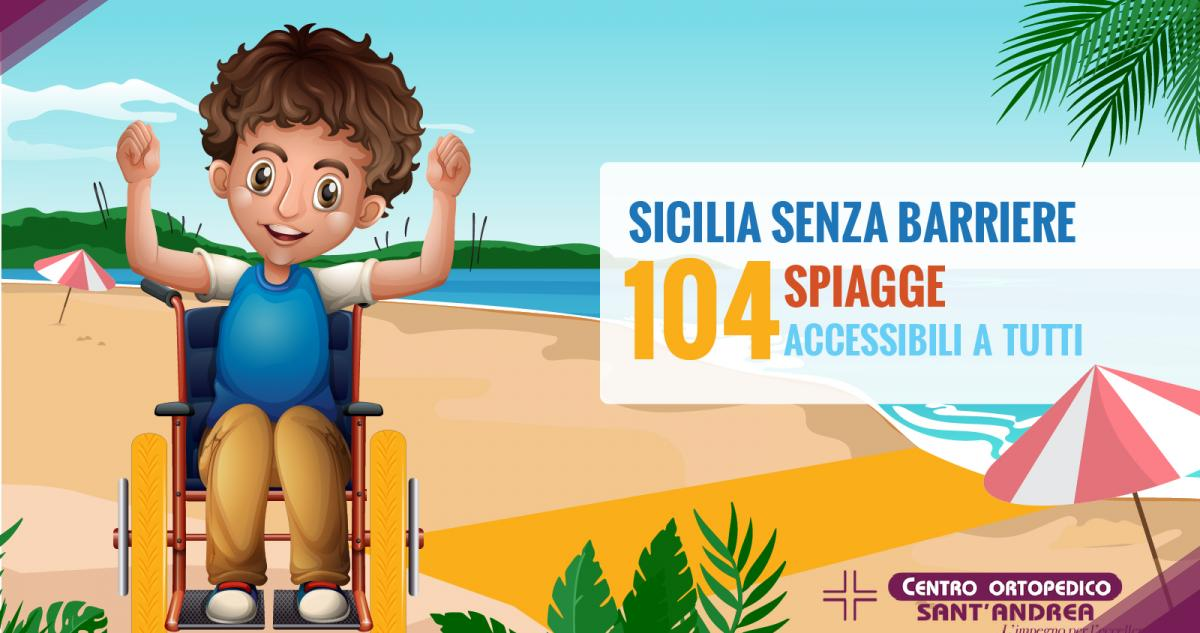In Sicilia Senza Barriere, le 104 spiagge accessibili a tutti