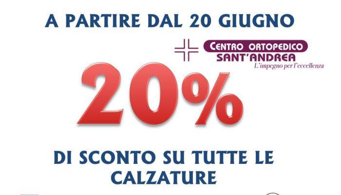 Sconti del 20% in occasione delle festività di Santa Febronia