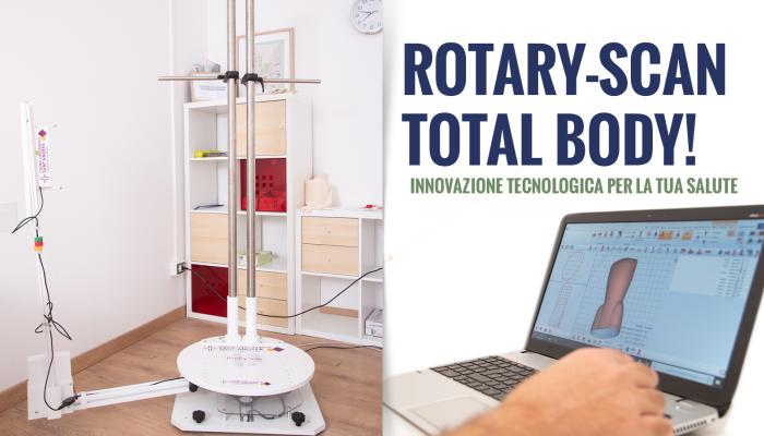 Ortopedia su misura: Rotary-Scan Total Body!